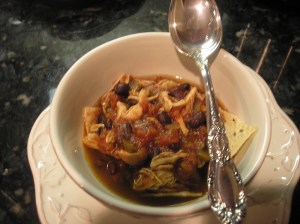 Chicken Tortilla Soup --yummy