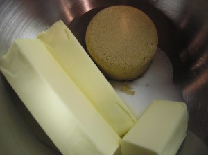 Softened Butter and Sugars