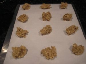 Place on baking sheet with parchment paper