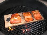 Salmon on the Big Green Egg