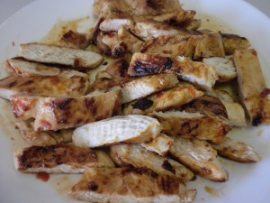 Sliced Cooked Chicken