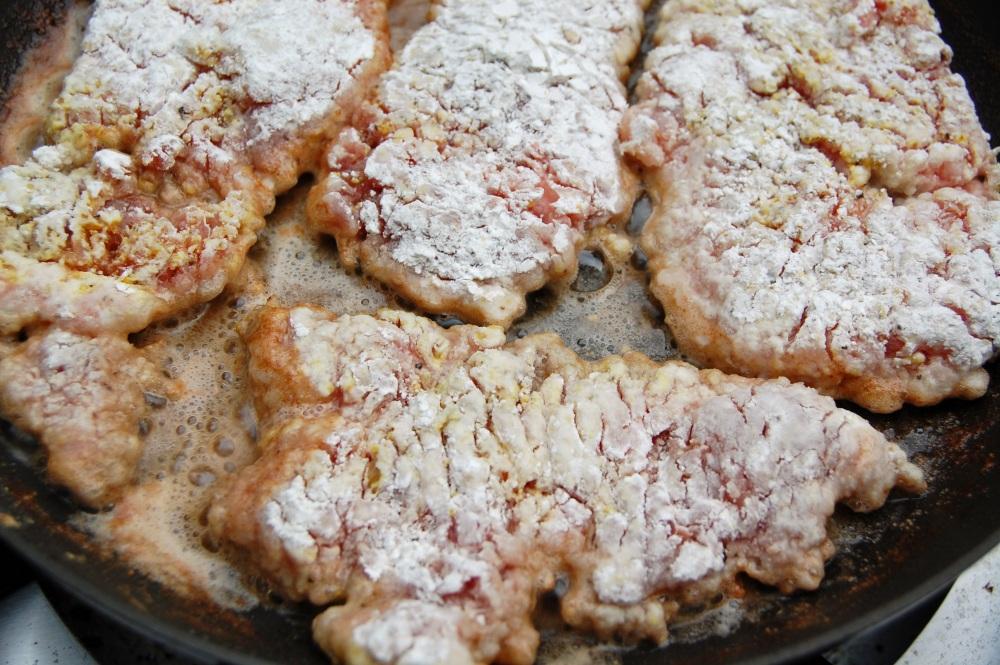 Pan Fried Pork Cutlets (2/3)