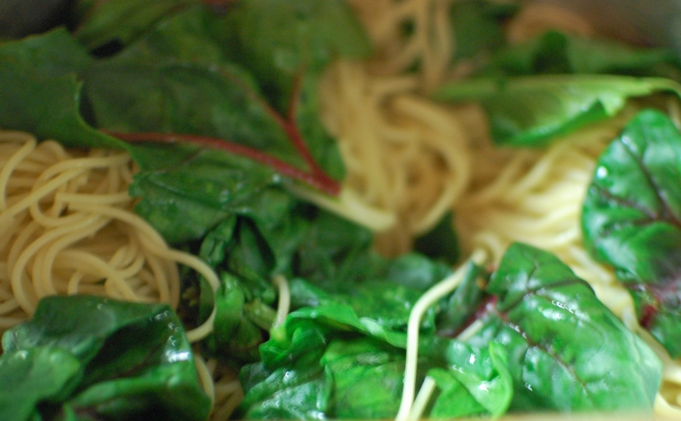 Angel Hair Pasta With Spinach Shrimp Tomatoes And Basil The