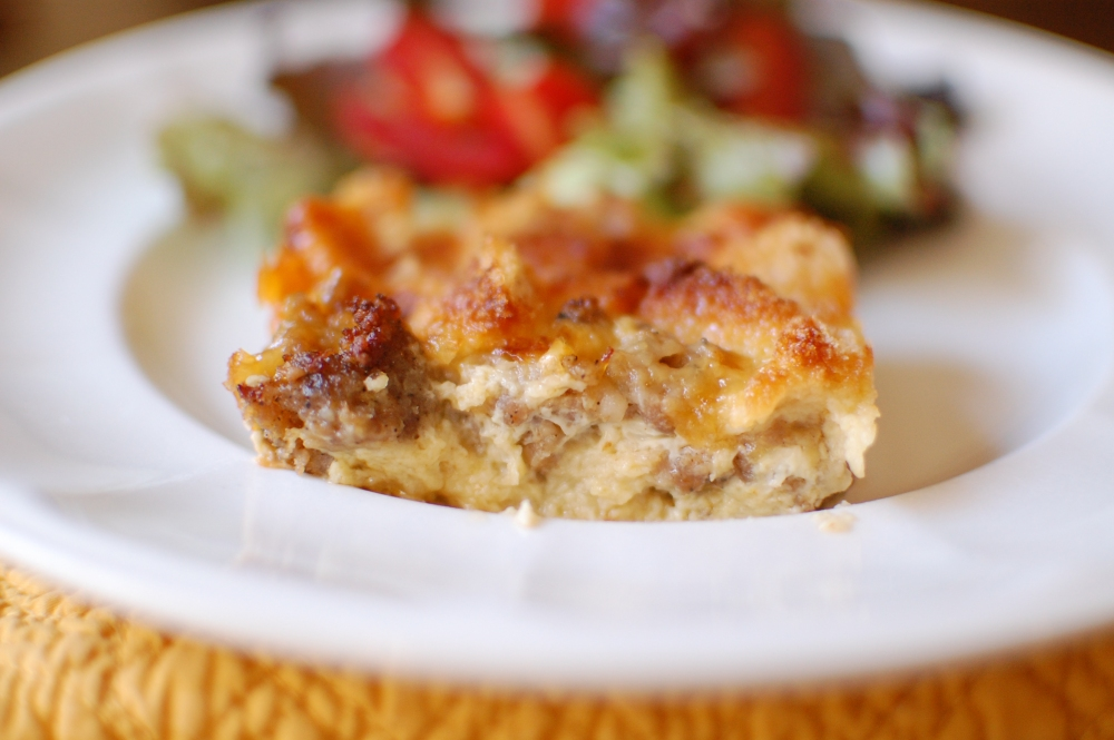 Egg and Sausage Breakfast Casserole (1/6)