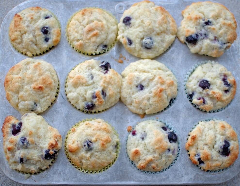 Donna Hay's Blueberry Muffins