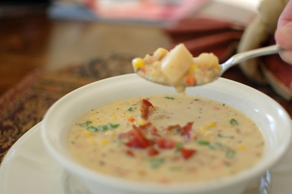 /Corn chowder