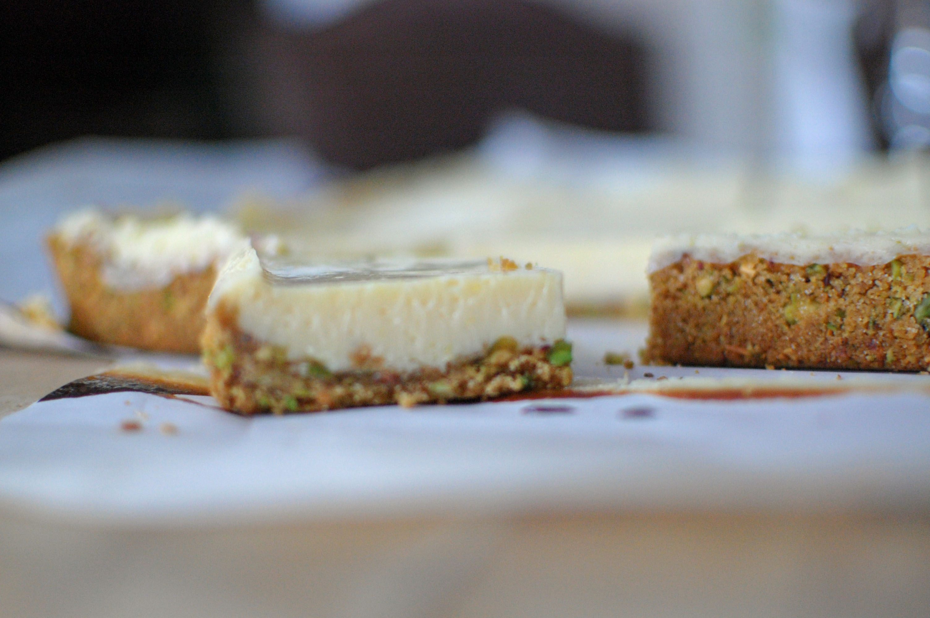 Lime Squares with Pistachio Graham-Cracker Crust from Martha Stewart ...