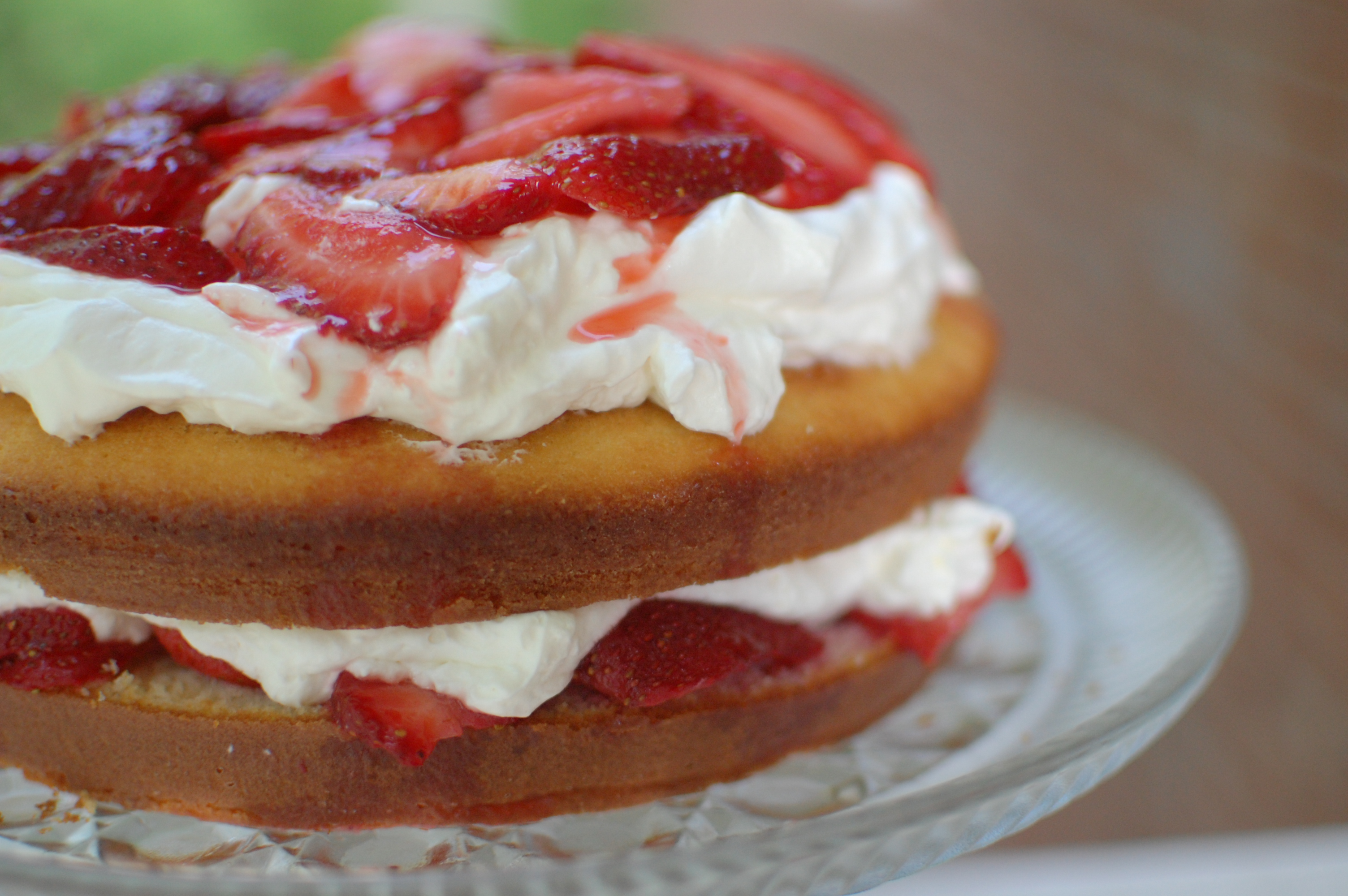 Strawberry Cake With Whipped Cream Recipes — Dishmaps